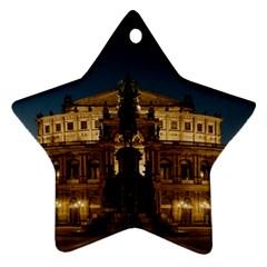 Dresden Semper Opera House Ornament (star)