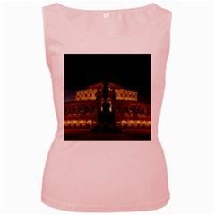 Dresden Semper Opera House Women s Pink Tank Top