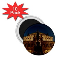 Dresden Semper Opera House 1 75  Magnets (10 Pack)
