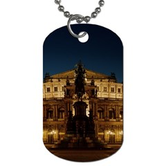 Dresden Semper Opera House Dog Tag (one Side)