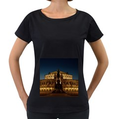Dresden Semper Opera House Women s Loose Fit T Shirt (black)