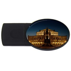 Dresden Semper Opera House Usb Flash Drive Oval (4 Gb)