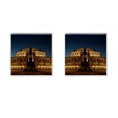 Dresden Semper Opera House Cufflinks (square)