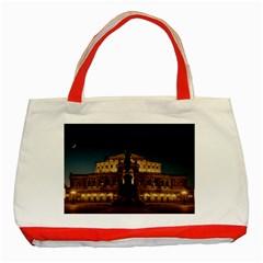 Dresden Semper Opera House Classic Tote Bag (red)