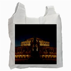 Dresden Semper Opera House Recycle Bag (one Side)