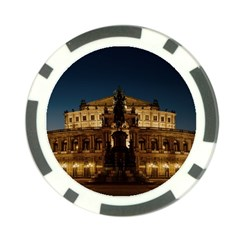 Dresden Semper Opera House Poker Chip Card Guards (10 Pack)