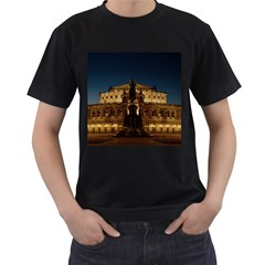 Dresden Semper Opera House Men s T Shirt (black)