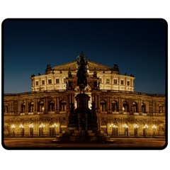 Dresden Semper Opera House Fleece Blanket (Medium)