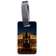 Dresden Semper Opera House Luggage Tags (one Side)