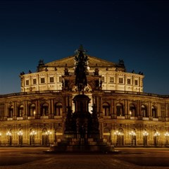 Dresden Semper Opera House Magic Photo Cubes