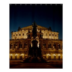 Dresden Semper Opera House Shower Curtain 60  X 72  (medium)