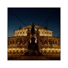 Dresden Semper Opera House Acrylic Tangram Puzzle (6  X 6 )