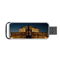 Dresden Semper Opera House Portable Usb Flash (one Side)