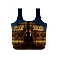Dresden Semper Opera House Full Print Recycle Bags (s)