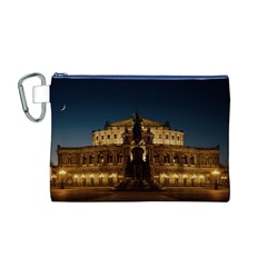 Dresden Semper Opera House Canvas Cosmetic Bag (m)