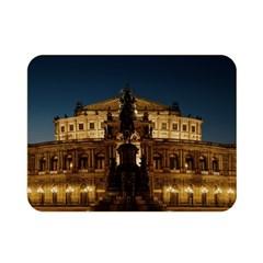 Dresden Semper Opera House Double Sided Flano Blanket (mini)