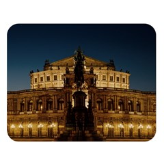 Dresden Semper Opera House Double Sided Flano Blanket (large)