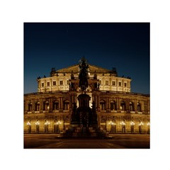 Dresden Semper Opera House Small Satin Scarf (square)