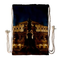 Dresden Semper Opera House Drawstring Bag (Large)
