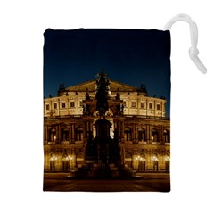 Dresden Semper Opera House Drawstring Pouches (extra Large)