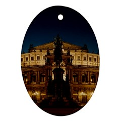 Dresden Semper Opera House Ornament (oval)