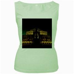 Dresden Semper Opera House Women s Green Tank Top