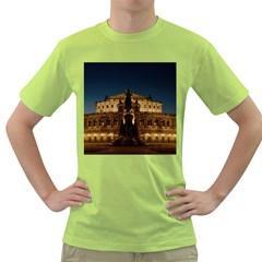 Dresden Semper Opera House Green T Shirt