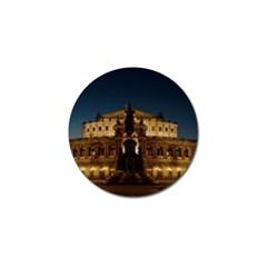 Dresden Semper Opera House Golf Ball Marker (4 Pack)