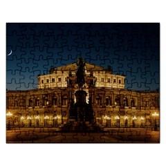 Dresden Semper Opera House Rectangular Jigsaw Puzzl