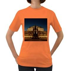 Dresden Semper Opera House Women s Dark T Shirt