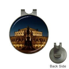 Dresden Semper Opera House Hat Clips With Golf Markers