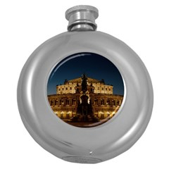 Dresden Semper Opera House Round Hip Flask (5 Oz)