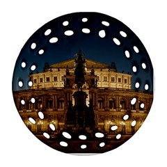 Dresden Semper Opera House Ornament (round Filigree)