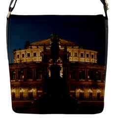 Dresden Semper Opera House Flap Messenger Bag (s)