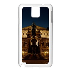 Dresden Semper Opera House Samsung Galaxy Note 3 N9005 Case (white)