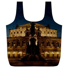 Dresden Semper Opera House Full Print Recycle Bags (l)