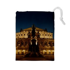 Dresden Semper Opera House Drawstring Pouches (large)