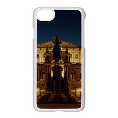 Dresden Semper Opera House Apple Iphone 7 Seamless Case (white)