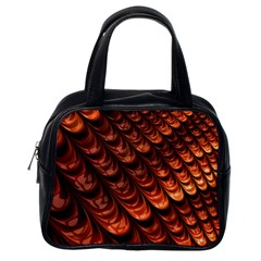Fractal Mathematics Frax Classic Handbags (One Side)