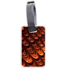Fractal Mathematics Frax Luggage Tags (two Sides)