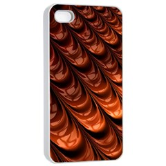 Fractal Mathematics Frax Apple Iphone 4/4s Seamless Case (white)