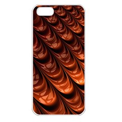 Fractal Mathematics Frax Apple Iphone 5 Seamless Case (white)