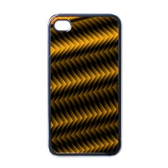 Ornament Stucco Close Pattern Art Apple Iphone 4 Case (black)