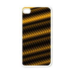 Ornament Stucco Close Pattern Art Apple Iphone 4 Case (white)