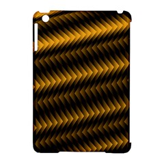 Ornament Stucco Close Pattern Art Apple iPad Mini Hardshell Case (Compatible with Smart Cover)