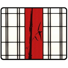 SHOJI - BAMBOO Fleece Blanket (Medium)