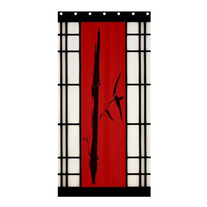 SHOJI - BAMBOO Shower Curtain 36  x 72  (Stall)