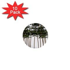 Bamboo Plant Wellness Digital Art 1  Mini Buttons (10 Pack)