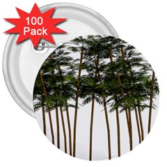 Bamboo Plant Wellness Digital Art 3  Buttons (100 Pack)