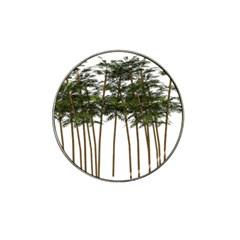 Bamboo Plant Wellness Digital Art Hat Clip Ball Marker (10 Pack)